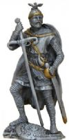 William Wallace Pewter  Knight Figurine